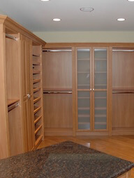Walk in Master Closet Double Hang