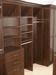 Custom Closet Doors Drawers Hanging