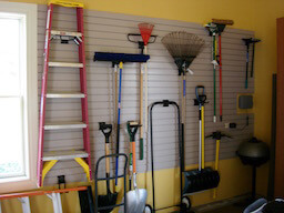 Garage Slotwall Organization