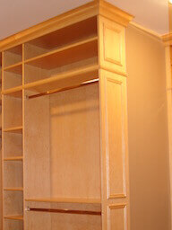 Floor to Ceiling Closet